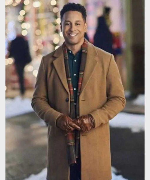 Antonio Cayonne Christmas In Evergreen Bells are Ringing Coat