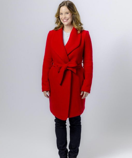 Christmas in Evergreen Bells Are Ringing Ashley Williams Red Coat