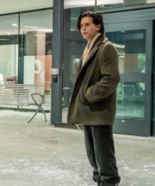 Five Feet Apart Cole Sprouse Brown Coat