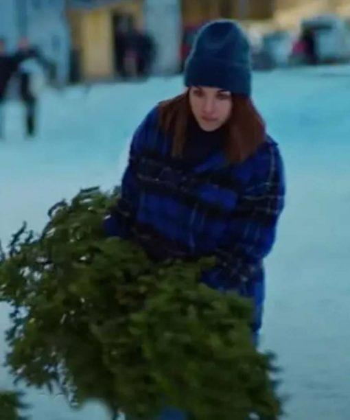 Ida Elise Broch Home For Christmas S02 Blue Jacket