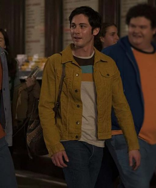 Hunters Logan Lerman Yellow Jacket