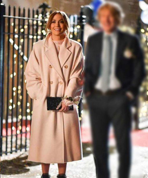 Marry Me 2021 Kat Valdez Pink Trench Coat