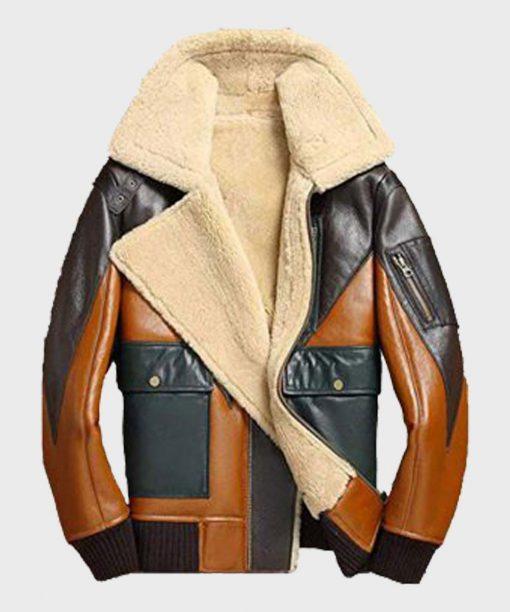 Mens B3 Bomber Shearling Jacket