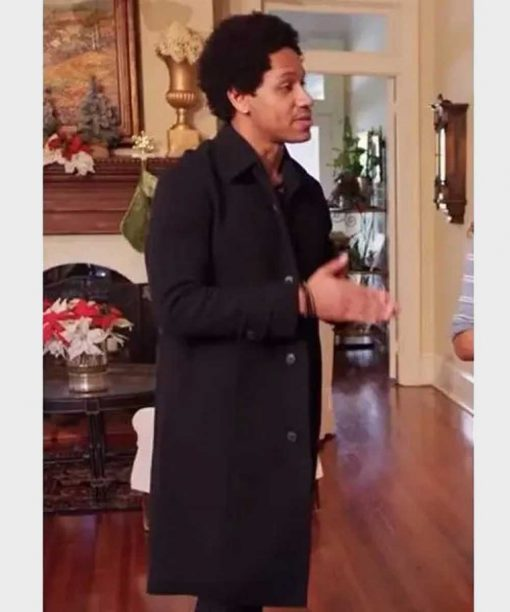 A Christmas Surprise Amiri Black Coat