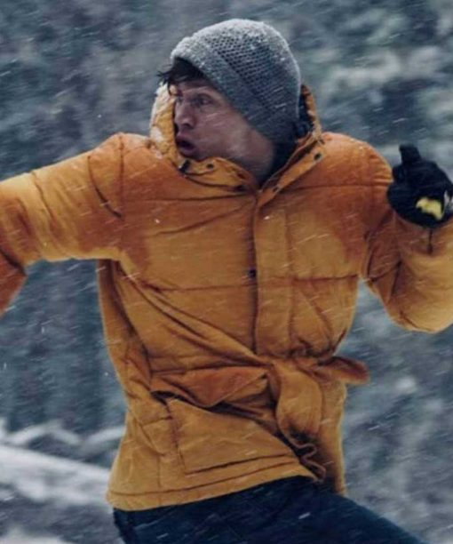 Mark Hill Never Hike In The Snow Yellow Jacket