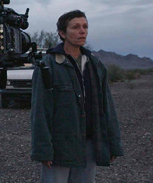 Nomadland Frances McDormand Coat
