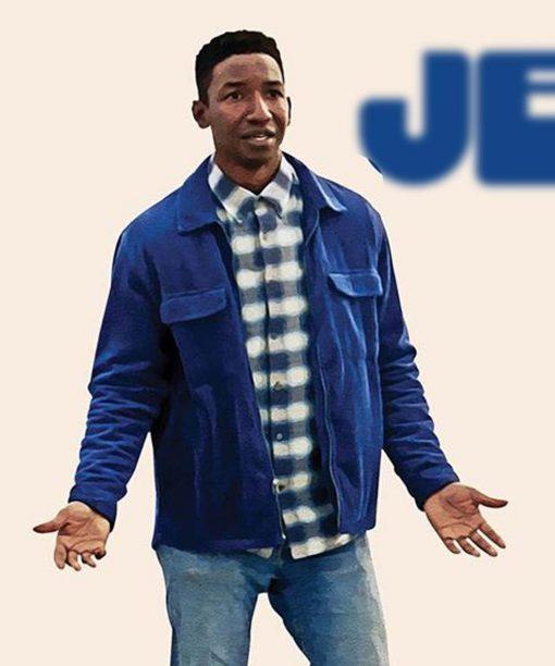 Oh Jerome, No Mamoudou Athie Blue Jacket