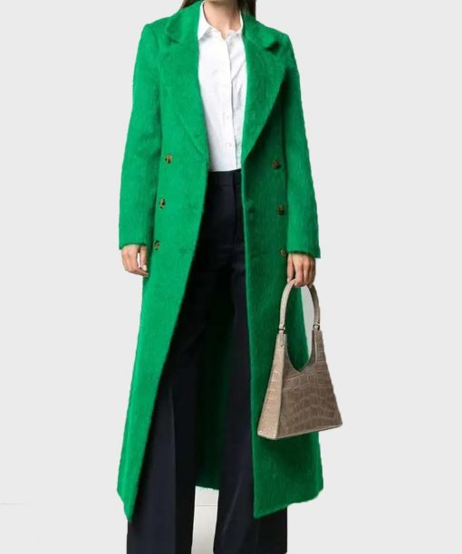 Out Of Her Mind Sara Pascoe Green Coat