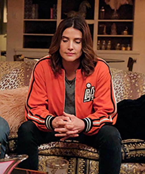 Stumptown S02 Cobie Smulders Orange Bomber Jacket