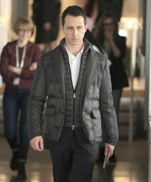 Succession Kieran Culkin Black Jacket