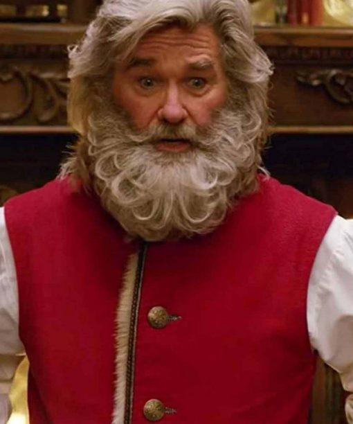 The Christmas Chronicles Kurt Russell Red Vest