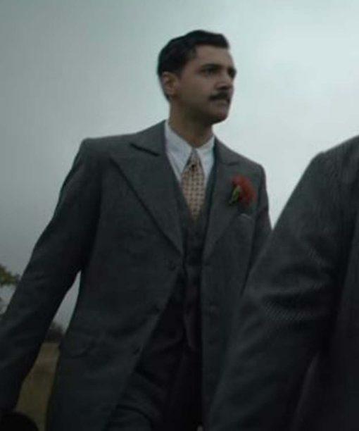 Arsher Ali The Dig Grey Blazer Coat