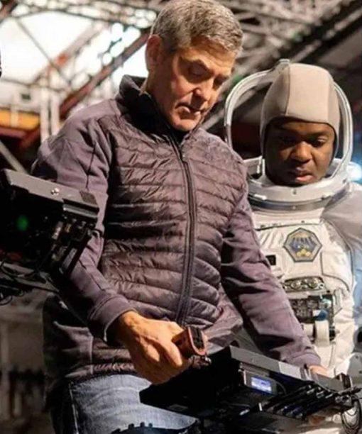 The Midnight Sky George Clooney Black Jacket