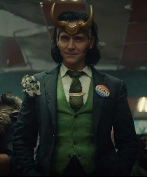 Loki 2021 Tom Hiddleston Blazer