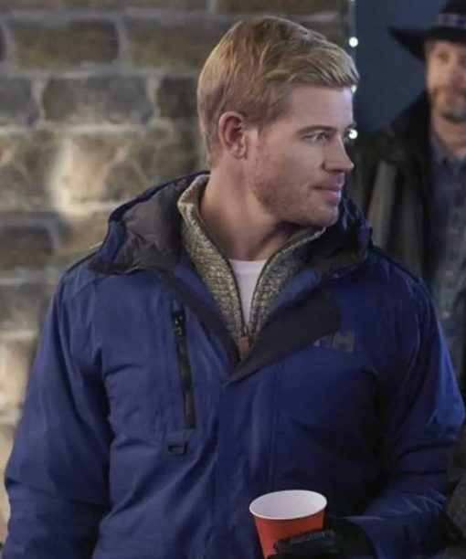Trevor Donovan Two For The Win Blue Jacket