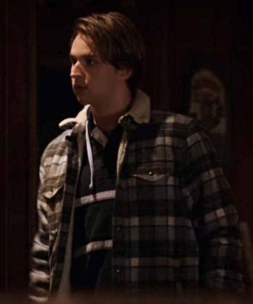 Virgin River S02 Grayson Maxwell Gurnsey Checkered Jacket
