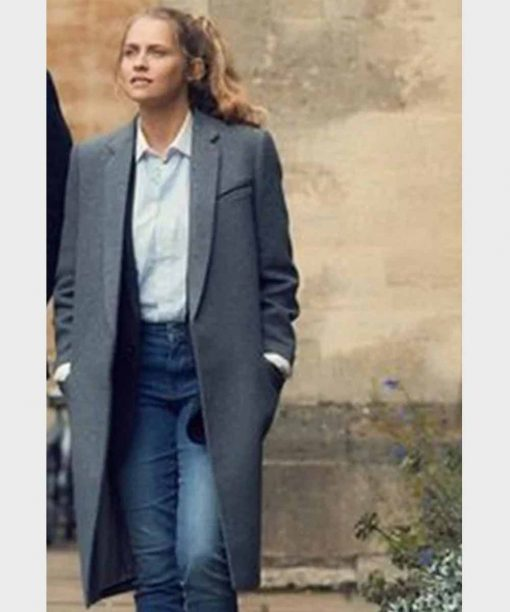 A Discovery of Witches Teresa Palmer Grey Trench Coat
