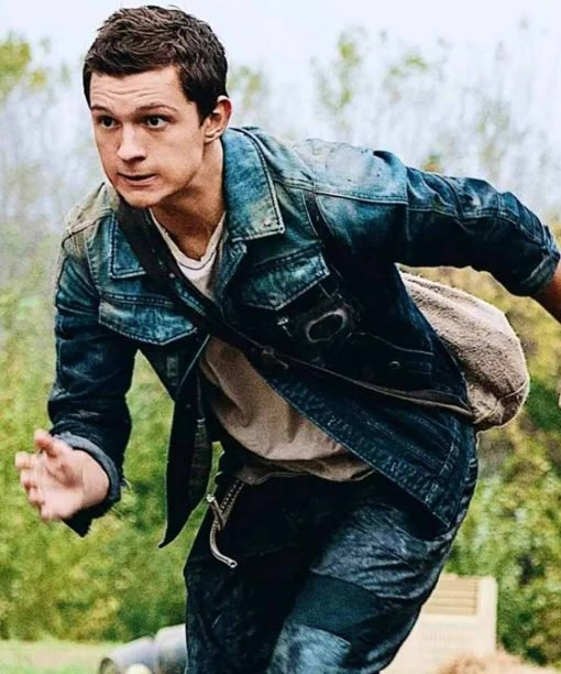 Tom Holland Chaos Walking Denim Jacket