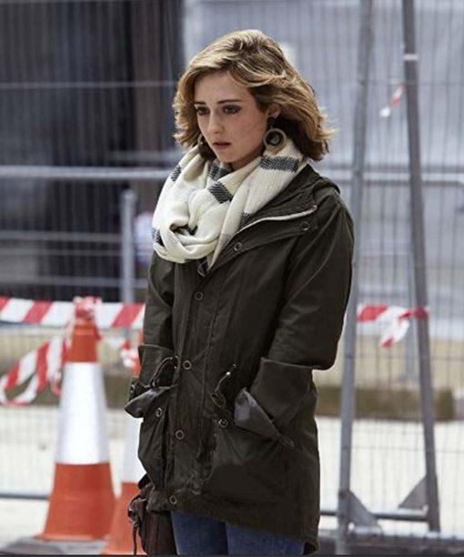 Stephanie Hyam Doctor Who Green Parka Jacket