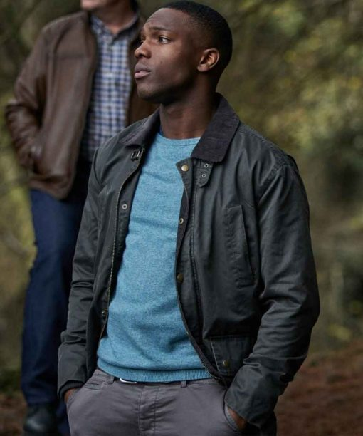 Doctor Who Tosin Cole Cotton Jacket