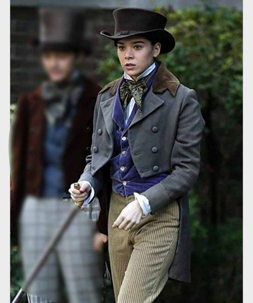 Hailee Steinfeld Emily Dickinson Grey Tailcoat