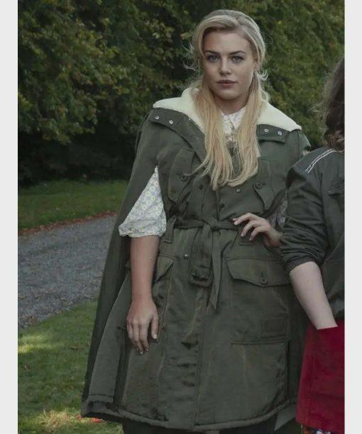 Fate The Winx Saga Hannah van der Westhuysen Green Coat