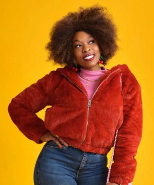 Dominique Moore Finding Alice 2021 Sherpa Jacket