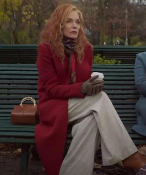 French Exit Michelle Pfeiffer Coat