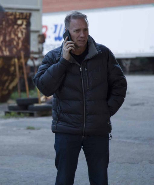 Undercover Billionaire Glenn Stearns Black Puffer Jacket