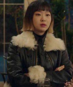 Kim Da-Mi Itaewon Class Leather Jacket
