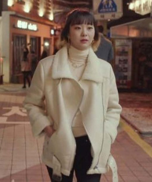 Kim Da-Mi Itaewon Class Fur Jacket