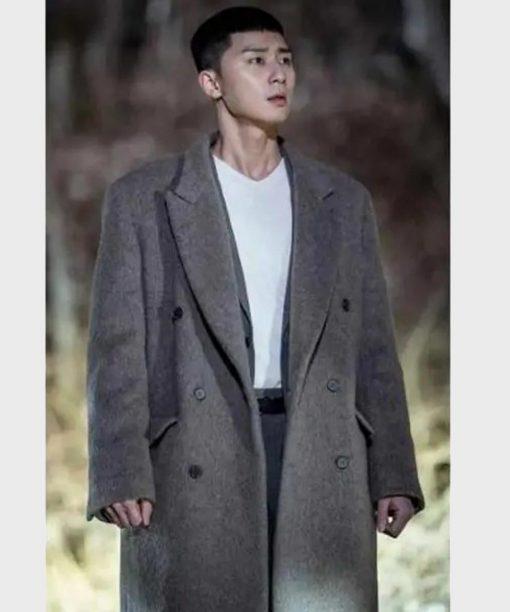 Itaewon Class Park Seo-Joon Double-Breasted Coat