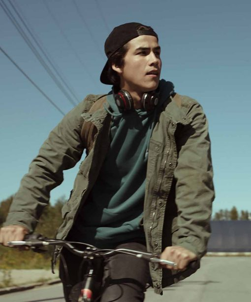 Trickster (2020) Joel Oulette Khaki Jacket