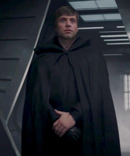 The Mandalorian Mark Hamill Black Cloak