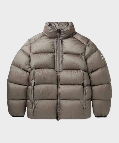 Mens Puffer Grey Parachute Down Jacket