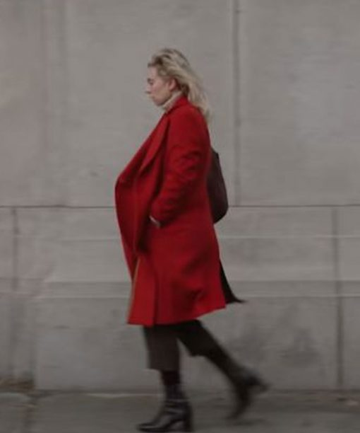 Vanessa Kirby Pieces of a Woman Red Coat
