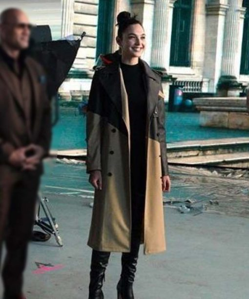 Gal Gadot Red Notice Trench Coat