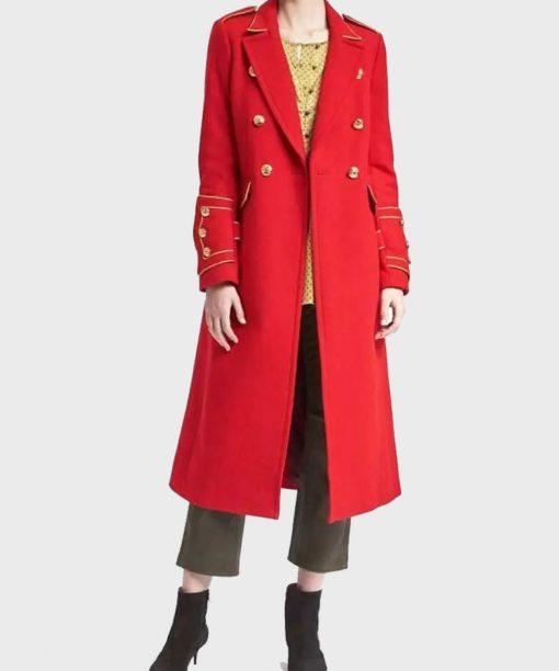 Nathalie Boltt Riverdale Trench Coat