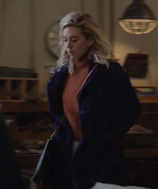 Pieces of a Woman Martha Blue Coat
