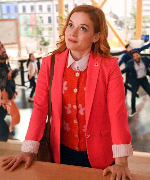 Zoey's Extraordinary Playlist S02 Jane Levy Red Blazer