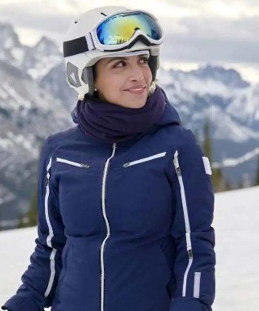 A Winter Getaway Jacket with Hood
