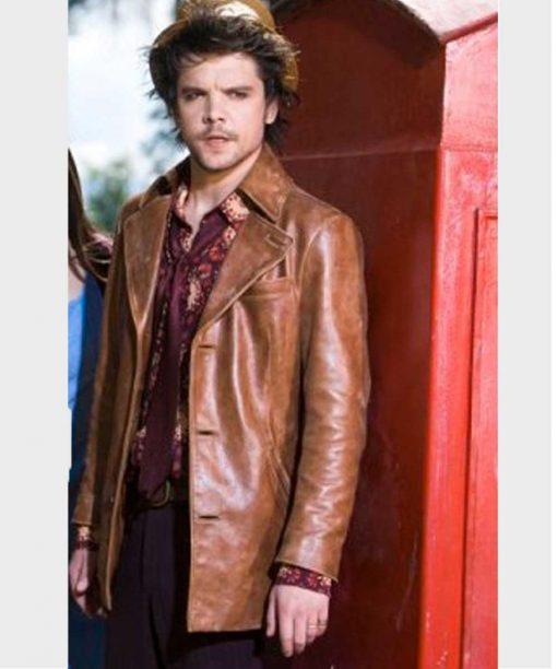 Alice Hatter Brown Leather Jacket