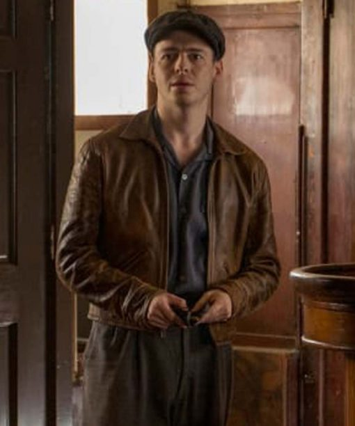 The Plot Against America Anthony Boyle Brown Jacket