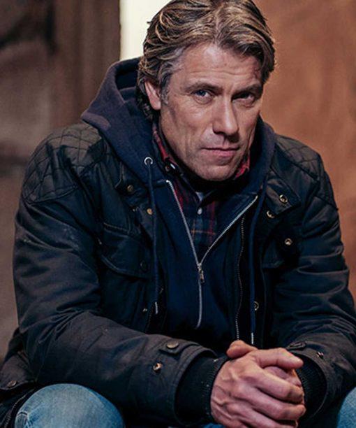 Doctor Who S13 John Bishop Black Jacket