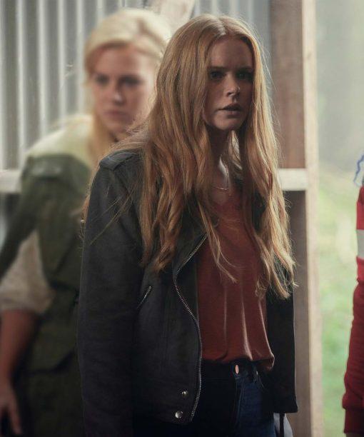 Fate The Winx Saga Bloom Leather Jacket