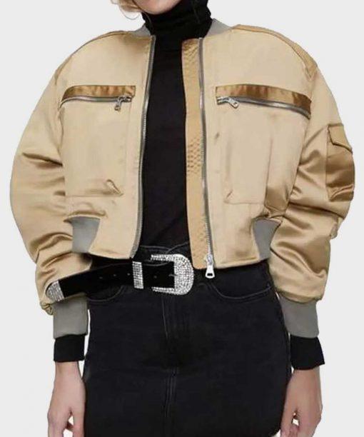 L.A.'s Finest S02 Gabrielle Union Bomber Cropped Jacket