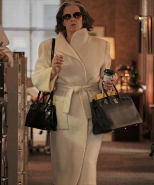 My Salinger Year (2021) White Long Coat