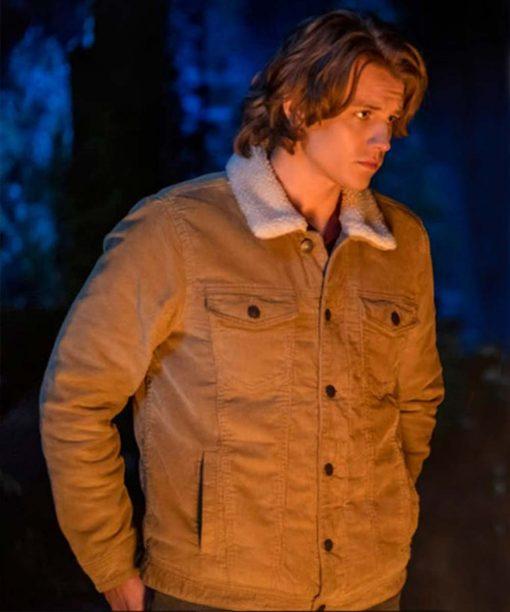 Alex Saxon Nancy Drew Brown Fur Collar Jacket