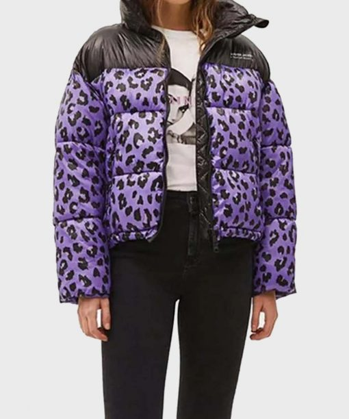 Love Life Zoe Chao Leopard Puffer Jacket