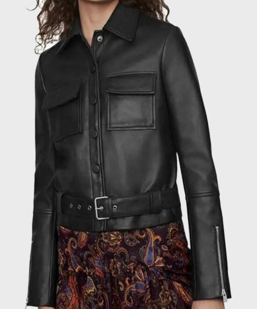 The Drowning Jill Halfpenny Leather Jacket